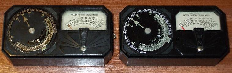 Weston Photronic Exposure Meter model 650
