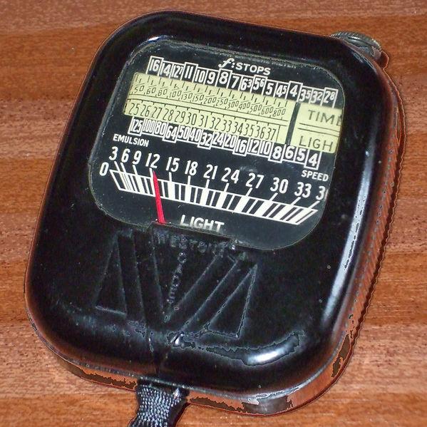 Weston Model 852 Cadet Direct Reading (DR) Exposure Meter