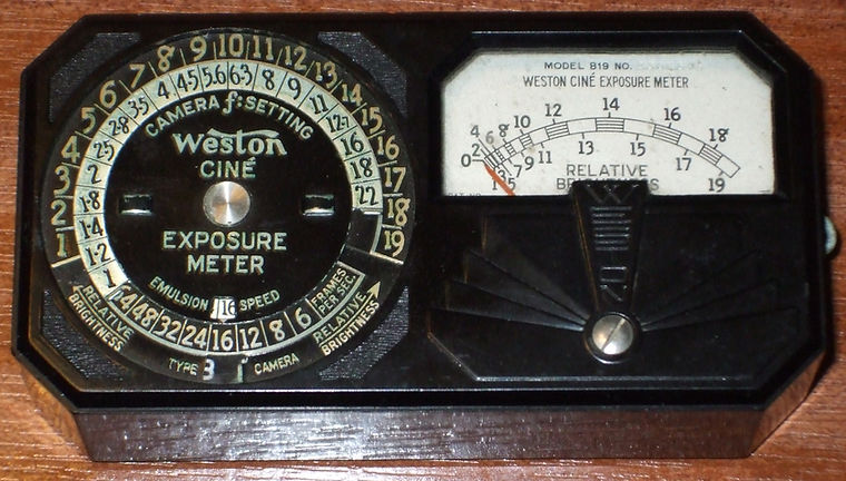 Weston Model 819 Cine Exposure Meter