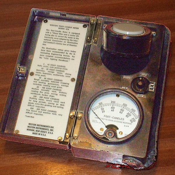 Weston Light Meter Model 614