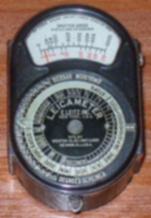 Weston Model 617, Leicameter, Exposure Meter, Scheiner, LEDQA