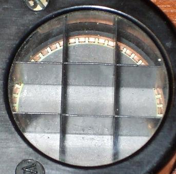 Weston Photronic Model 617 metal cell baffle