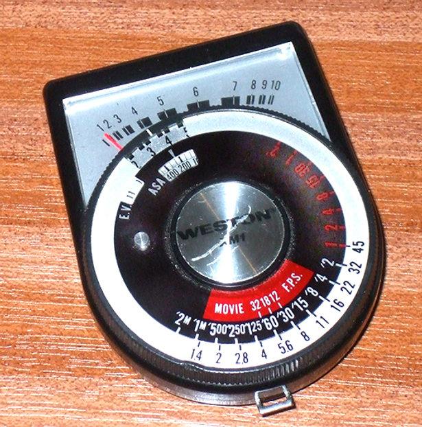 Weston XM1Exposure Meter Model 540