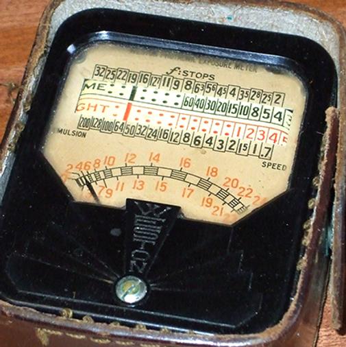 Weston 850 Direct Reading (DR) Junior Exposure Meter