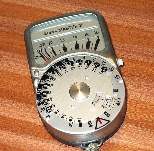 Megatron Euro-Master II Exposure Meter
