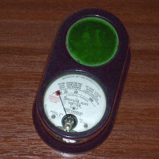 Weston Sight Light Meter Model E703