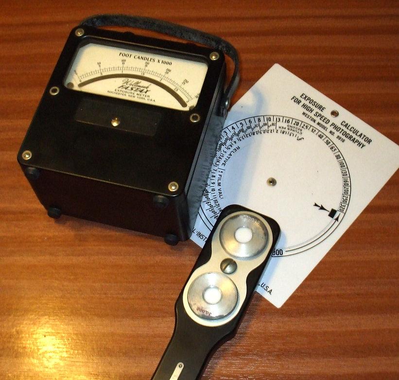 Wollensak (Weston) Fastax Exposure Meter Model 757