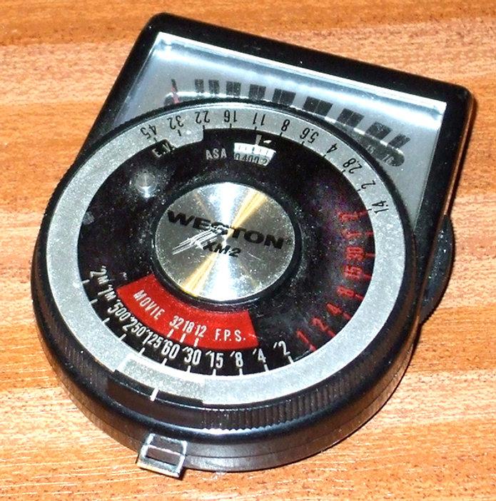 Weston XM2 CdS Exposure Meter Model 550