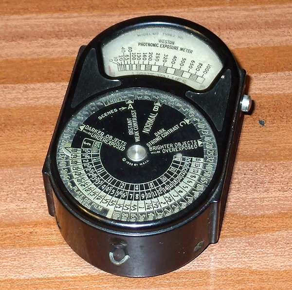 Weston Photronic Exposure Meter Model 617 type 2