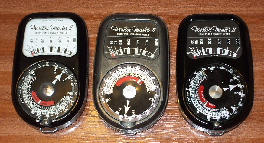Weston Master II Universal Exposure Meter