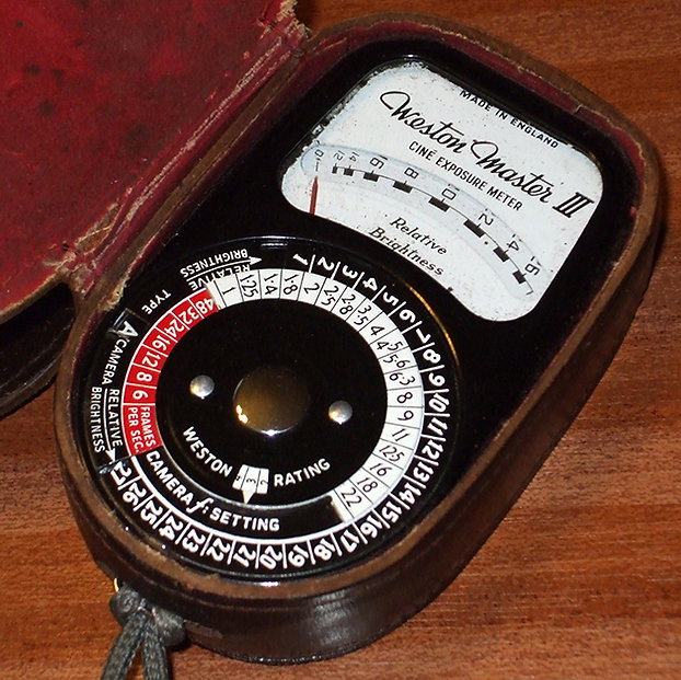Weston Master III Cine Exposure Meter
