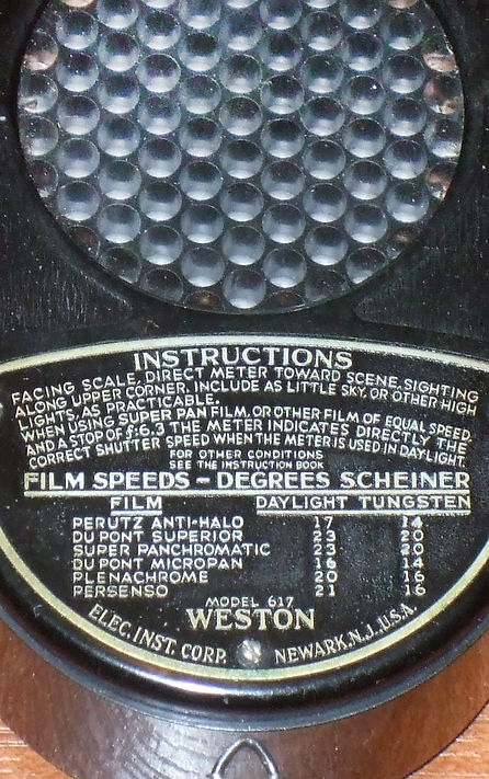 Weston Model 617, Leicameter, Exposure Meter, Scheiner, LEDQA