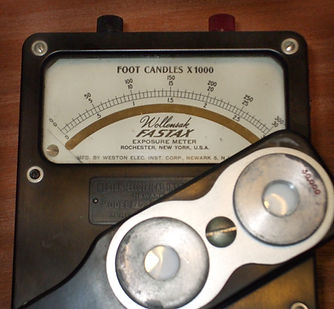 Wollensak Fastax Light Meter