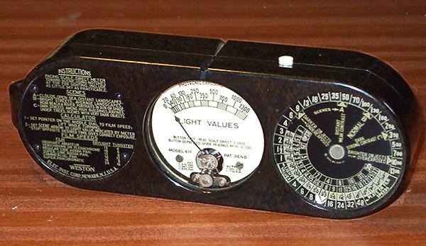 Weston Photronic Model 617 Exposure Meter