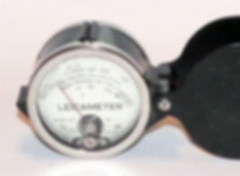 Weston Exposure Meter, Leicameter, 627, loupe