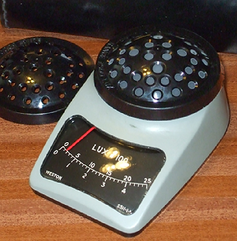 Weston Photometer Model S5.11 Light (Lux) Meter