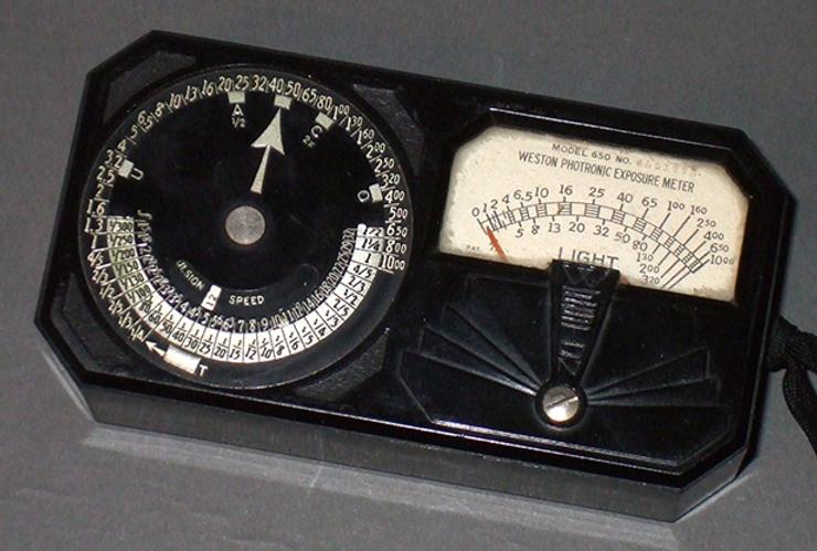 Weston Photronic Exposure Meter 650