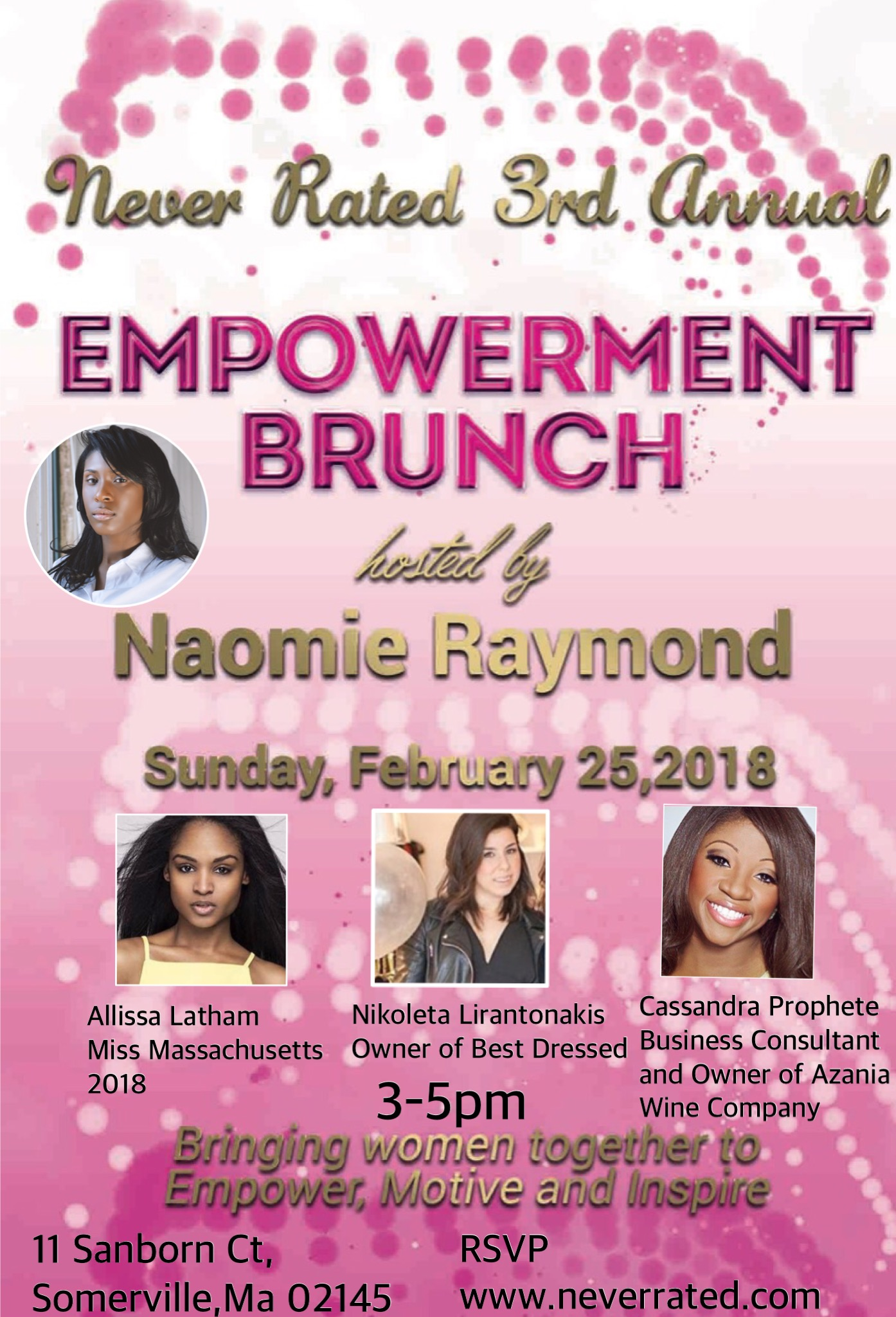 Never Rated Empowerment Brunch