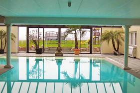 piscine chauffée privée