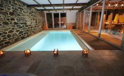 piscine privée dans la maison