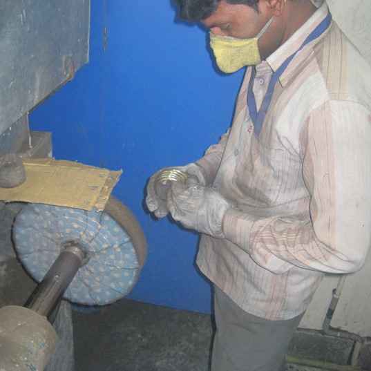 PPE IN POLISHING UNIT