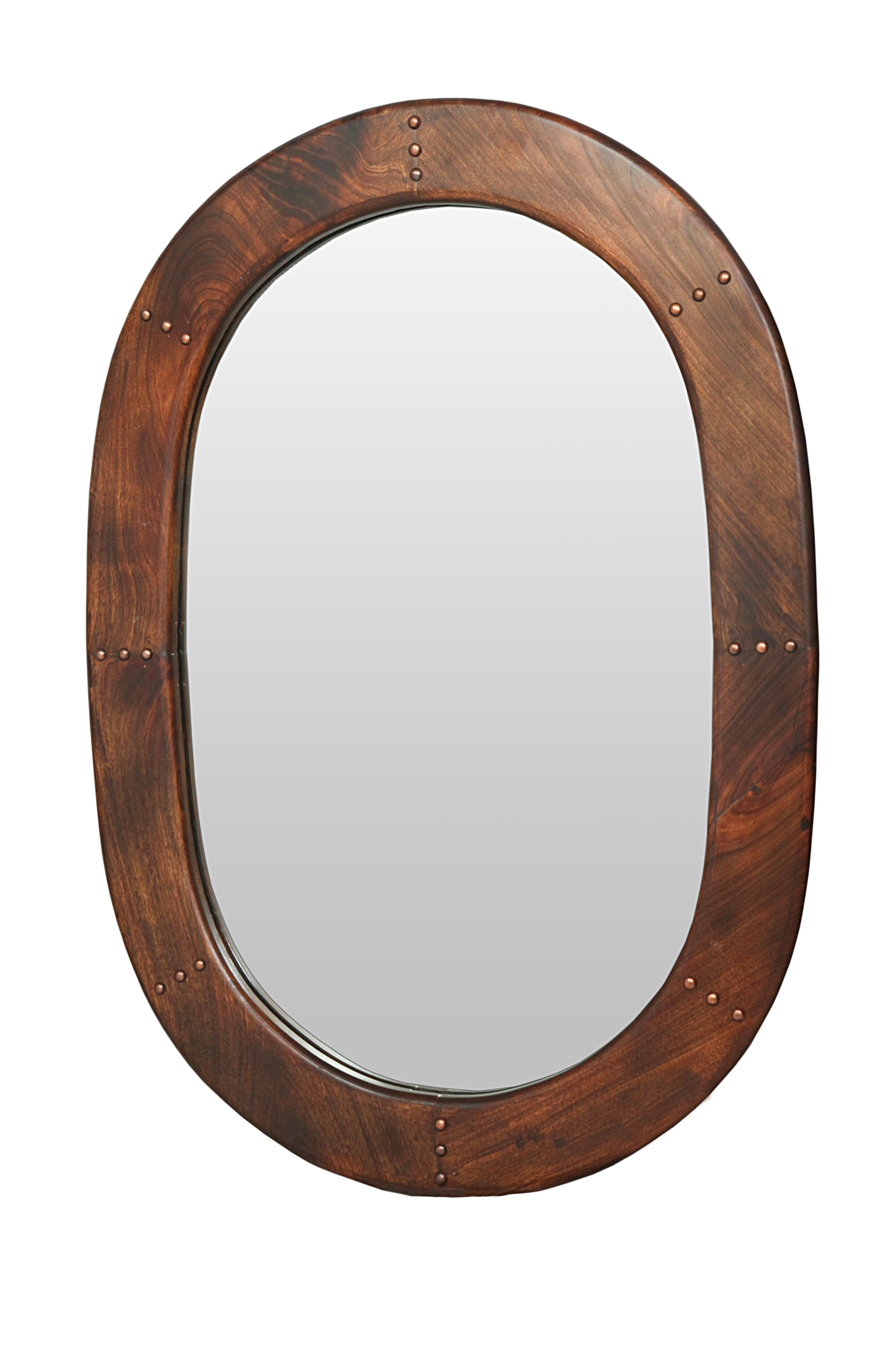 Wooden Oval Frame