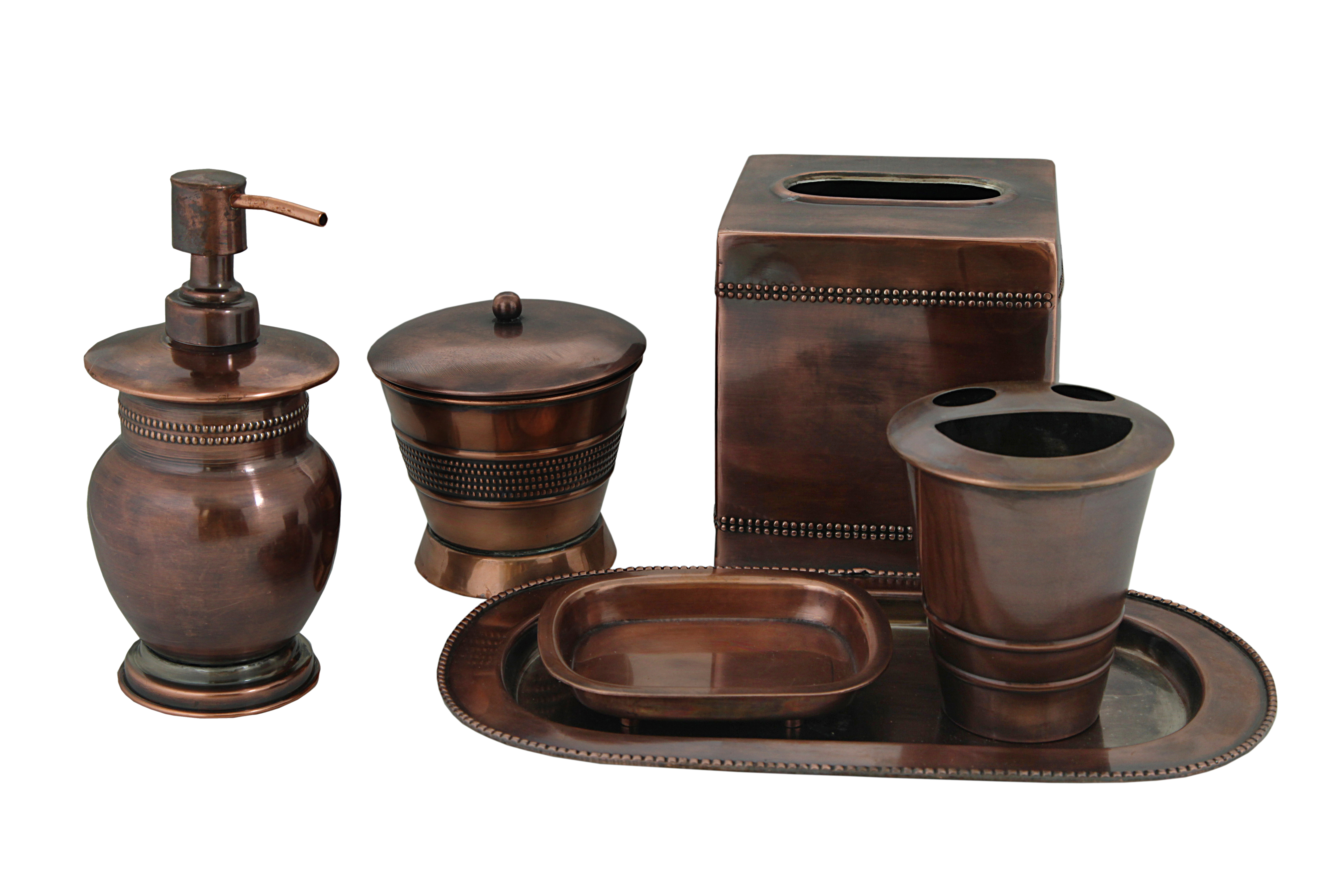 S.S. Bathroom Accessories Set
