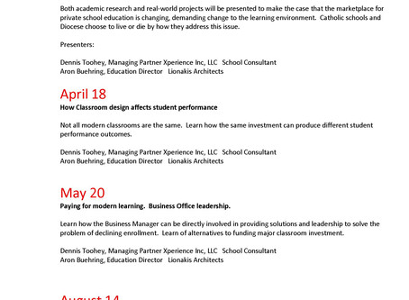 2019 Enrollment Booster Webinar Series