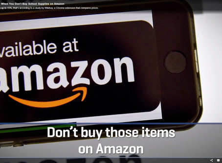 Why Schools Need to Buy Their Supplies Through The Thesis Program and not Amazon