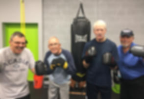 Rock Steady Boxing at Pinnacle Fitnes Topeka