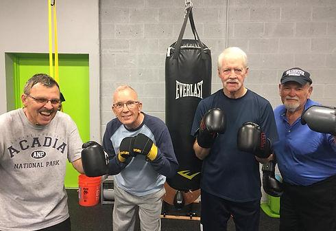 Rock Steady Boxing at Pinnacle Fitnes Topeka