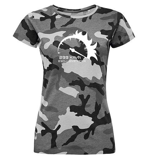 "Camiseta Chica Camuflaje Marcador ""Colores"""