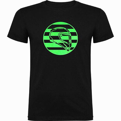 Camiseta Fluorescente Casco