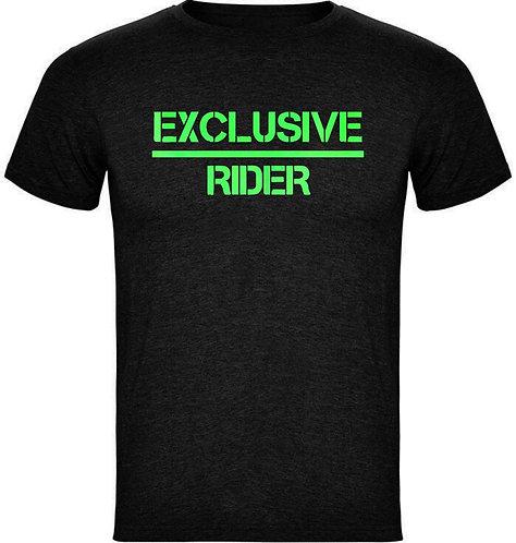 Camiseta Exclusive-Rider Fluorescente