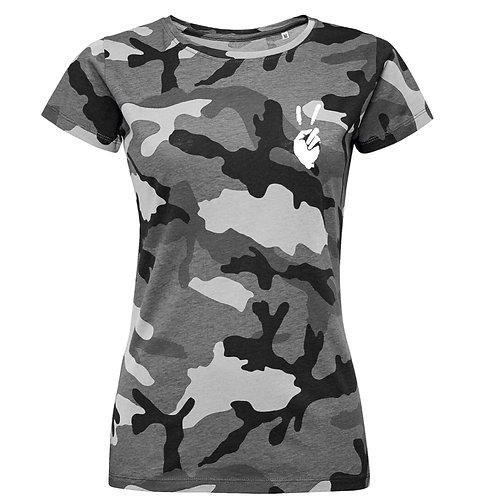 """Camiseta Chica Camuflaje Exclusive """"Colores"""""""