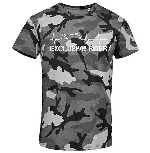"""Camiseta Camuflaje Latidos """"Colores"""""""