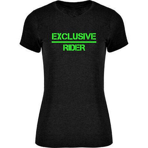 Camiseta Chica Exclusive-Rider Fluorescente