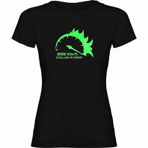 Camiseta Chica Fluorescente Marcador