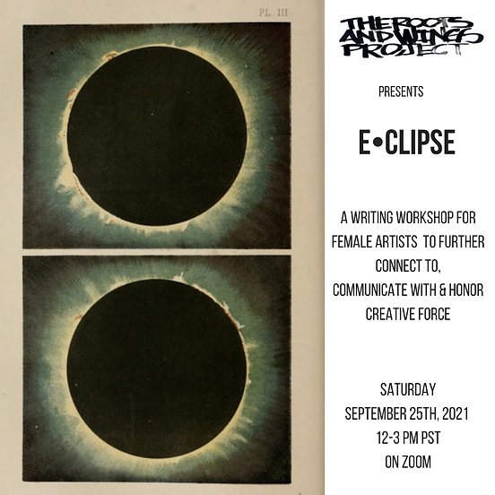 Present ECLIPSEA Workshop forArtists to Further Connect , Communicate & HonorCreative Forc