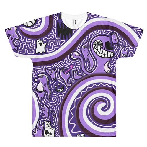 Blobbo Purple Dimension Shirt
