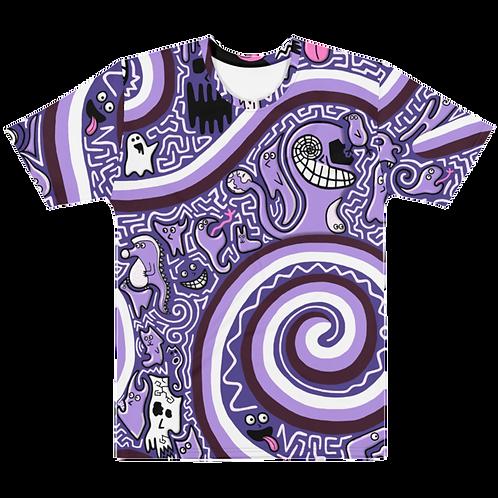 Blobbo Mens Purple Dimension T-Shirt