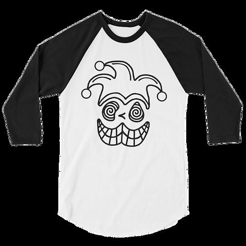 Blobbo Jester Baseball Shirt