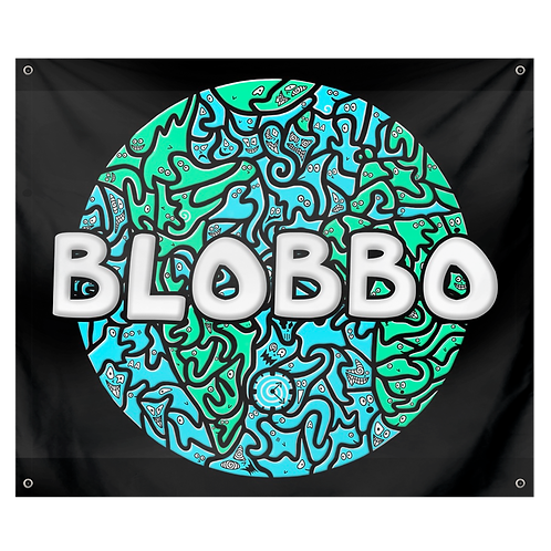 Blobbo World Tapestry
