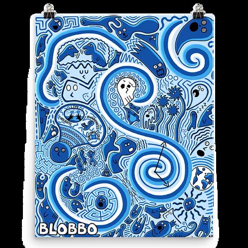 Blobbo Flash of Life Poster