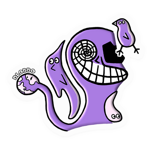 Blobbo The Creator Sticker