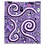 Thumbnail: Blobbo Purple Dimension Tapestry
