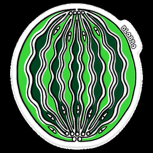 Blobbo Warplemelon Sticker