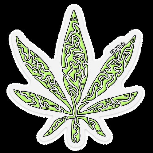 Blobbo Weed Sticker