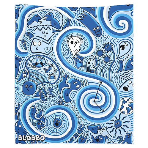 Blobbo Flash of Life Tapestry