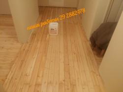 деревянный пол после ремонта